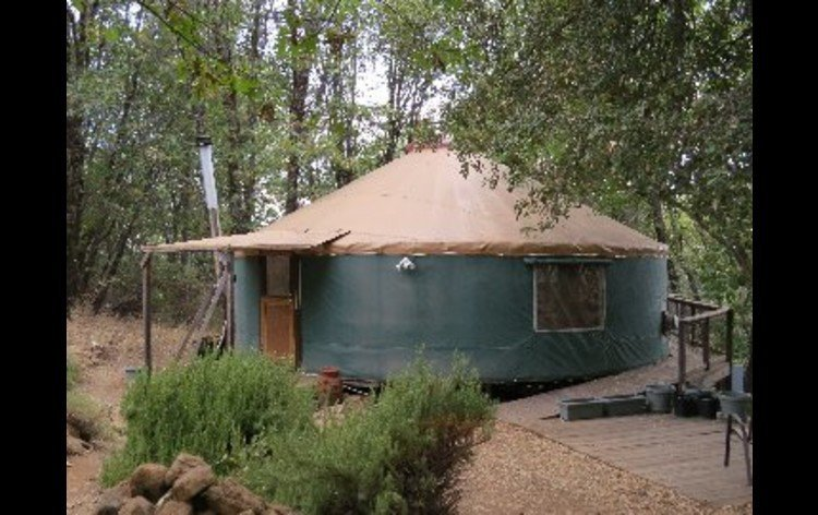 Taste the magic of peaceful living in the round at the Yuba Yurt in the Sierra Foothills...